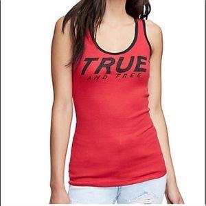 True religion rhinestone tank Brand new